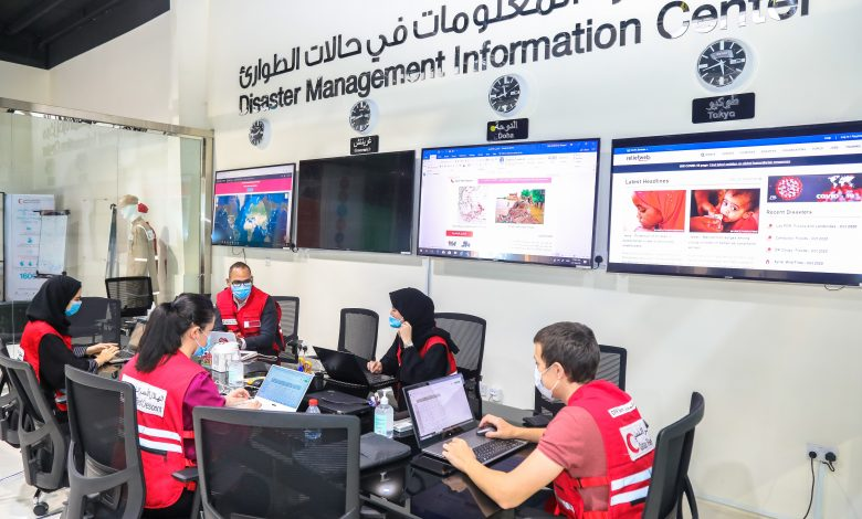 QRCS activates Disaster Information Management Center to respond to Izmir Earthquake