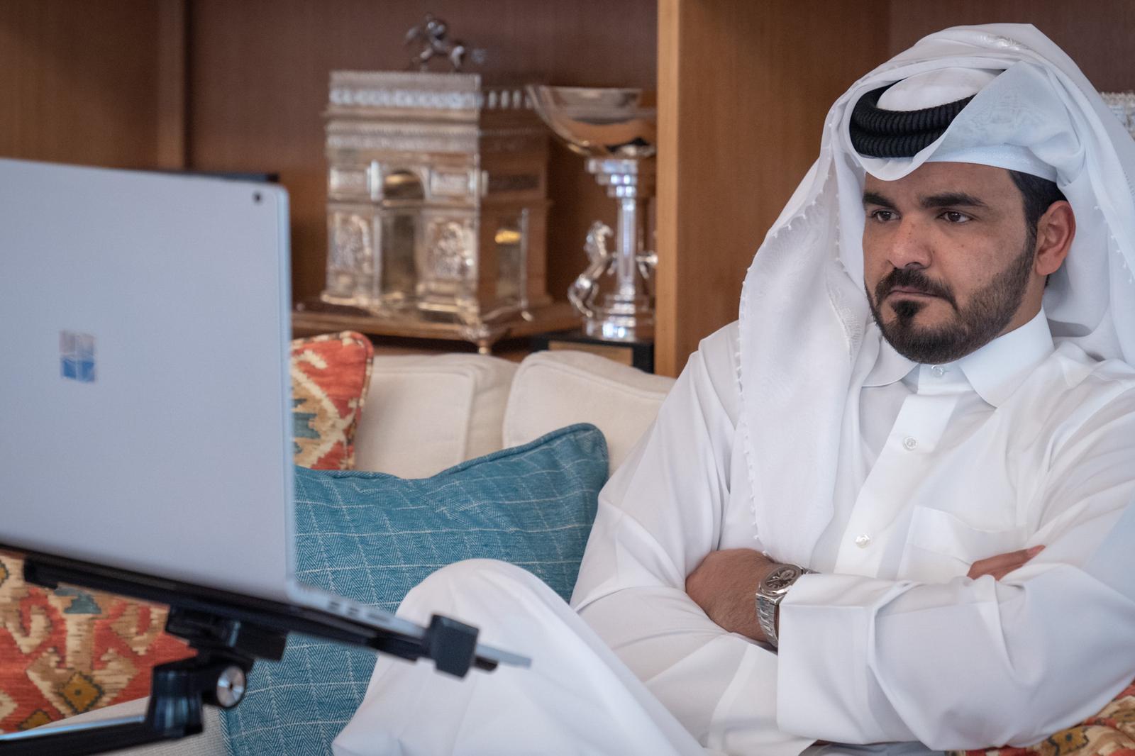 Sheikh Joaan Participates in IOC Public Affairs Commission Meeting