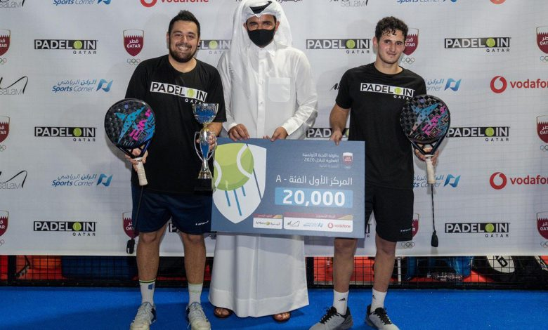Sheikh Joaan Crowns Winners of QOC Padel Tournament