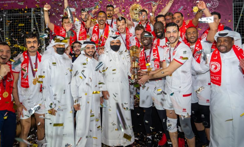 Sheikh Joaan Crowns Al Arabi Winners of HH the Amir Volleyball Cup