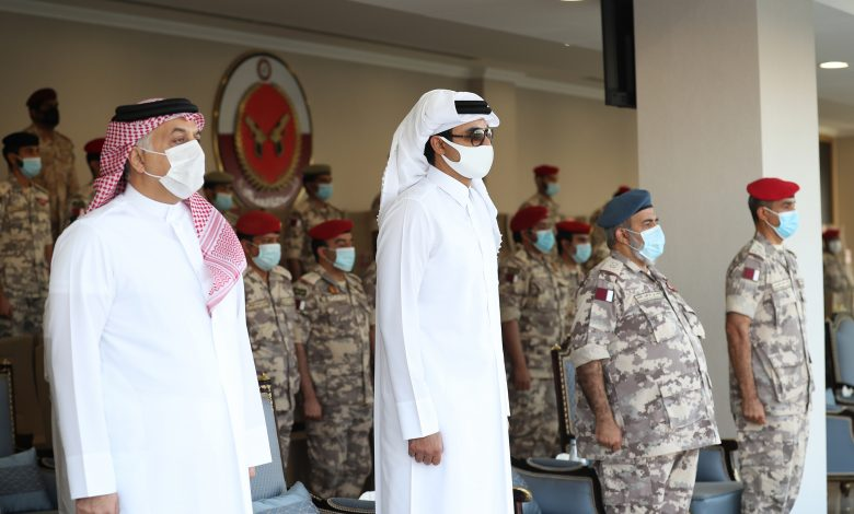 Amir Patronizes Opening Ceremony of Military Police Forces Command's Camp