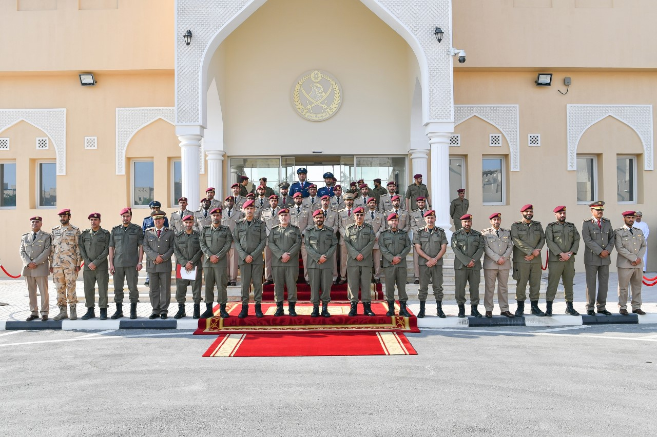 Amiri Guard Concludes Infantry Competition for 2020
