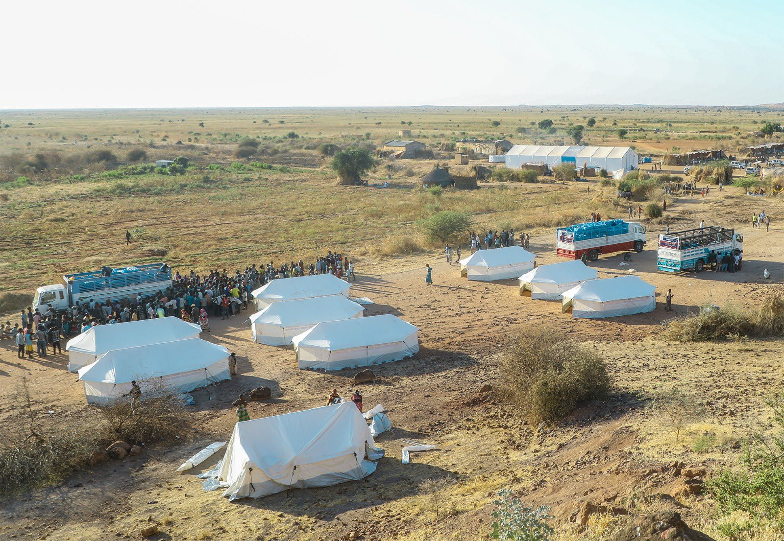 Qatar Charity Carries Out Relief Intervention for Ethiopian Refugees in Sudan
