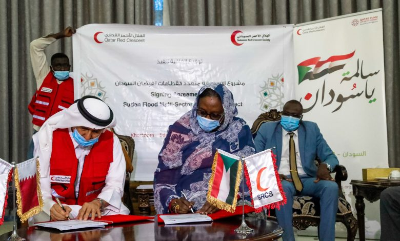 QRCS, SRCS Sign Multi-Sector Response Agreement for Recovery from Effects of Floods