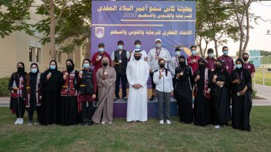 Photo of Sheikh Joaan Attends Part of HH the Amir Shooting and Archery Cup