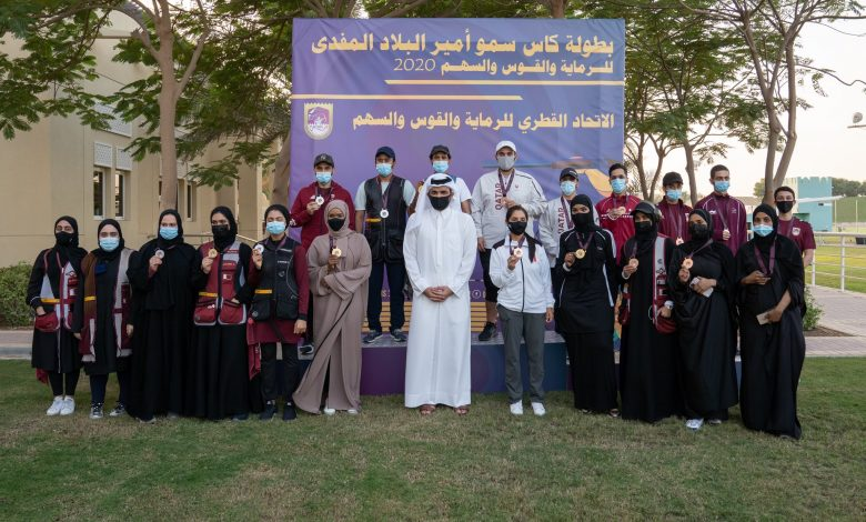 Sheikh Joaan Attends Part of HH the Amir Shooting and Archery Cup