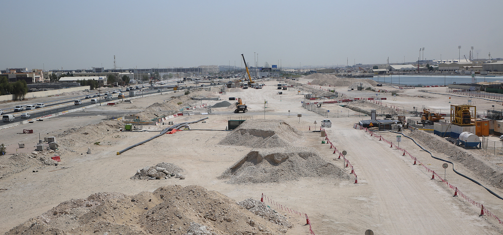 Ashghal Starts Converting Street 33 in Industrial Area into Expressway