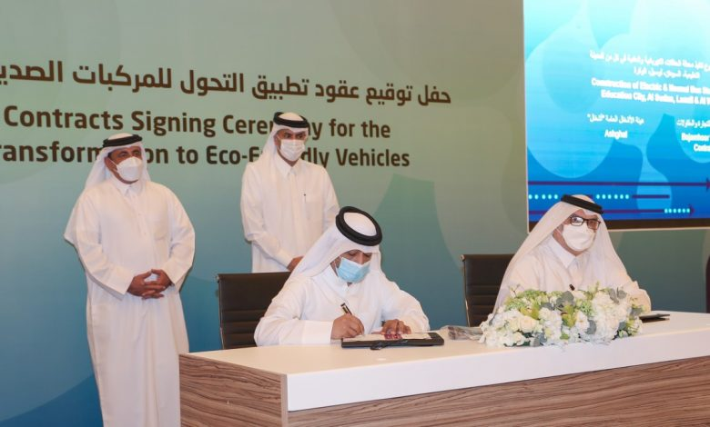 Prime Minister Witnesses Signing of Contracts to Implement Transformation to Environmentally Friendly Vehicles