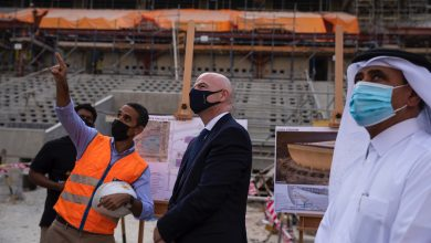 Photo of Infantino: FIFA Arab Cup 2021 in Qatar will be a Good Test Event for World Cup 2022