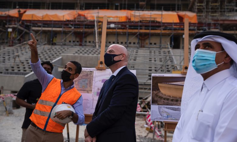 Infantino: FIFA Arab Cup 2021 in Qatar will be a Good Test Event for World Cup 2022