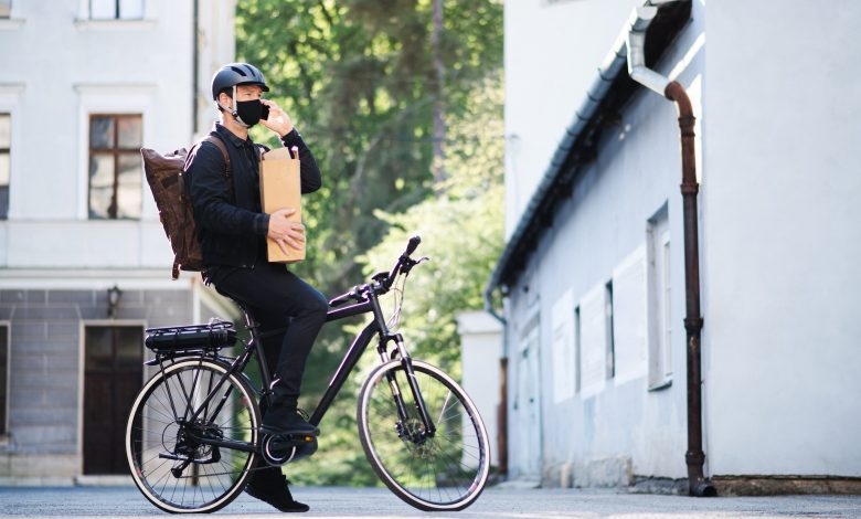 Olympic champion turns delivery rider to make ends meet