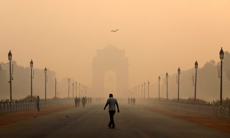 """Delhi suffers from """"severe"""" air pollution"""