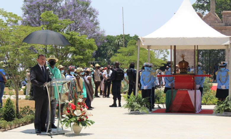 France returns a 19th century crown to Madagascar