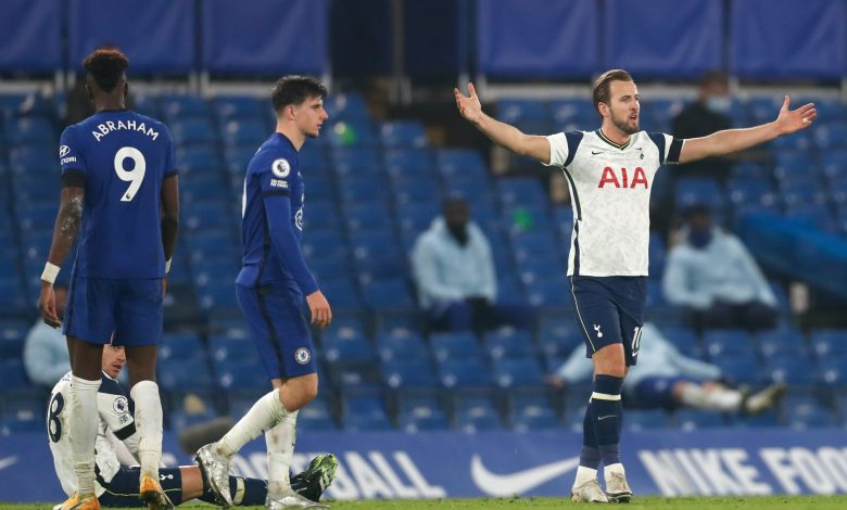 Spurs return to summit with hard-fought draw at Chelsea