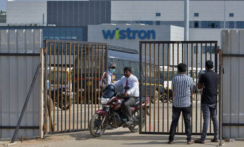 Workers riot at India iPhone factory over 'exploitation' claims