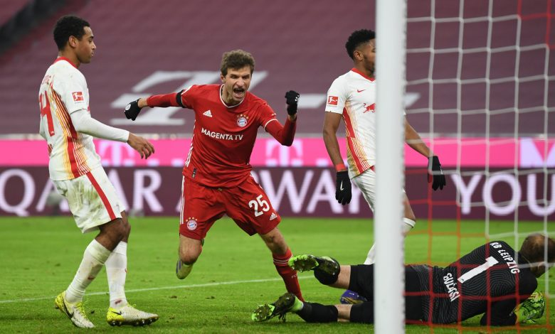 Resilient Bayern stay top after draw with Leipzig