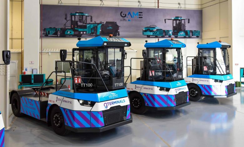 QTerminals Receives First Advanced Electric Tractor Assembled in Qatar