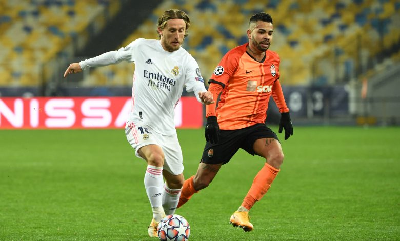 Shakhtar stun Real Madrid again to leave Spaniards on the brink
