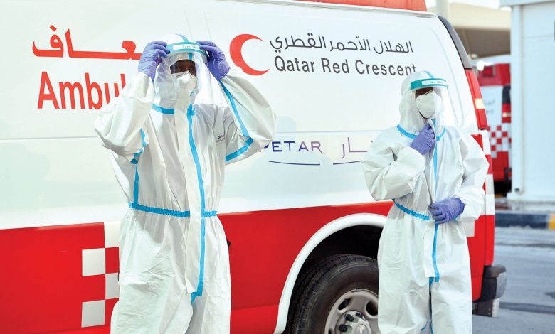 7 ambulances and 33 medical staff to cover the Corniche