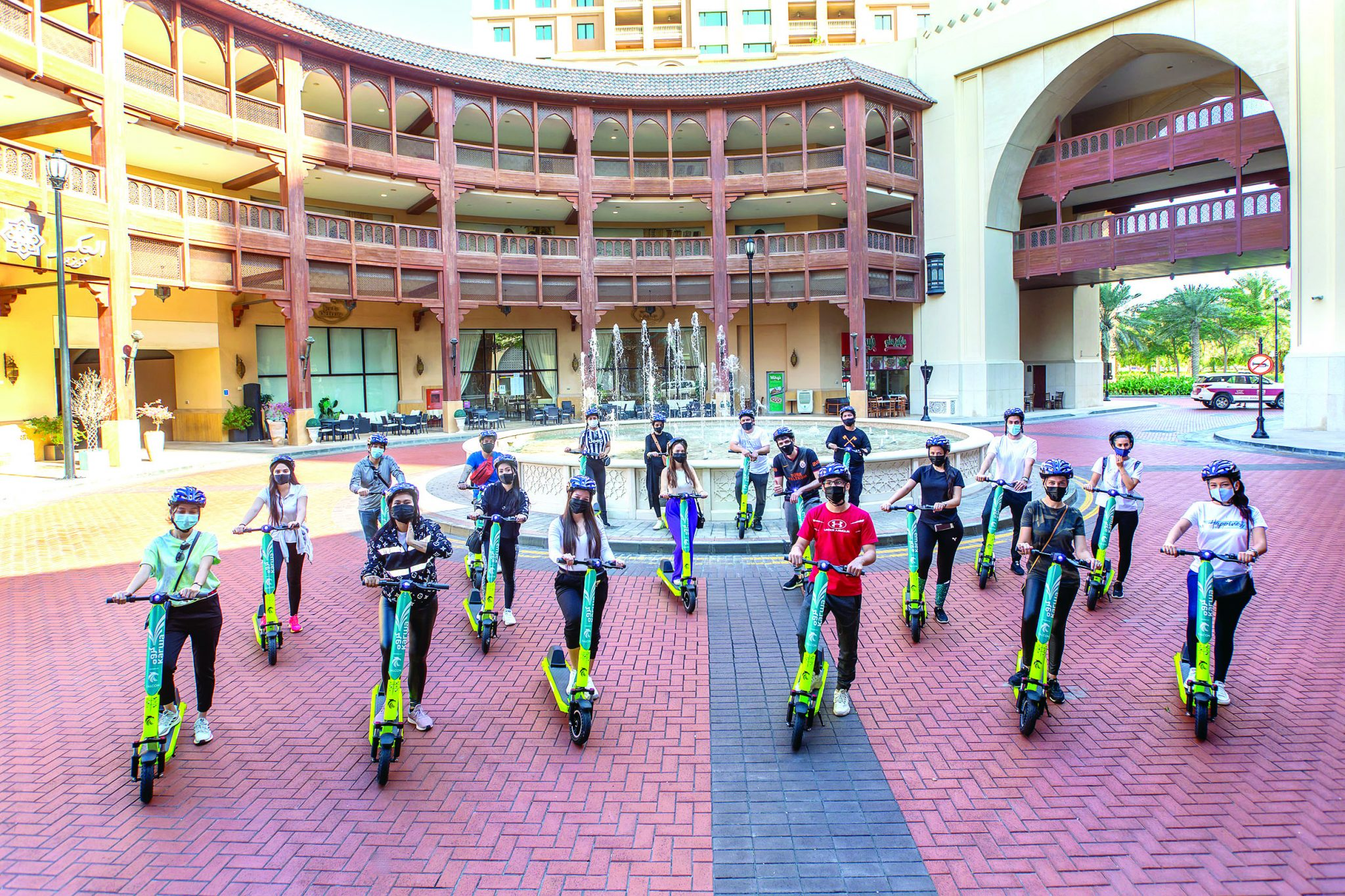 E-scooters launched at The Pearl-Qatar
