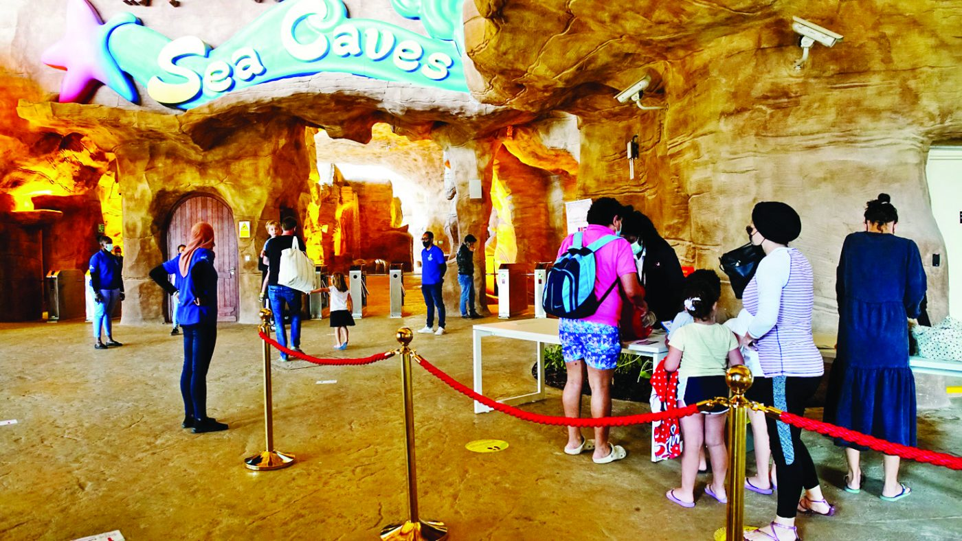 Ticket prices and visiting dates at Desert Falls Theme Park