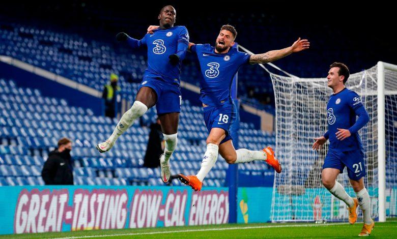 Chelsea 3-1 Leeds United: Blues climb to top of Premier League