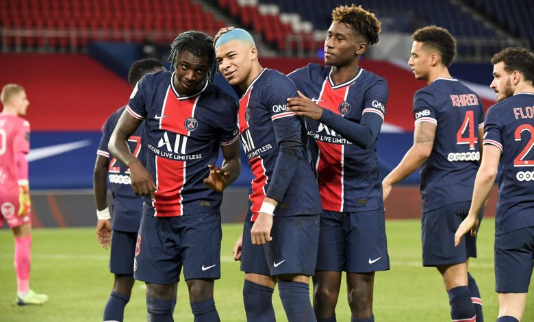 Saint-Germain and Lille draw at the top of the 16th round of Ligue 1