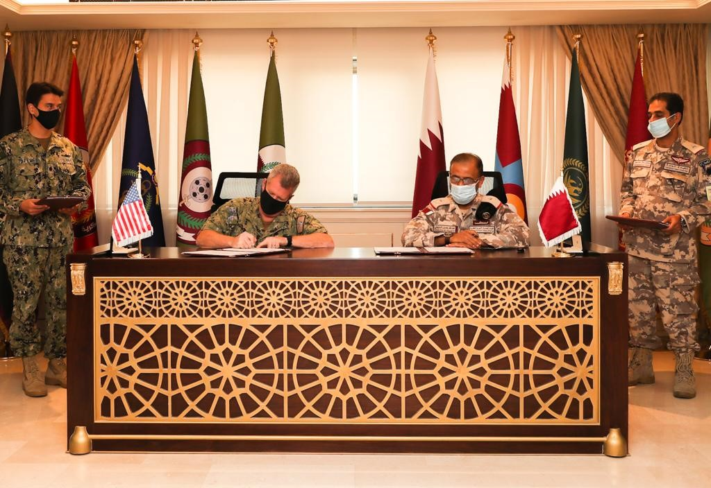 Qatar, US Sign Bilateral Military Agreement