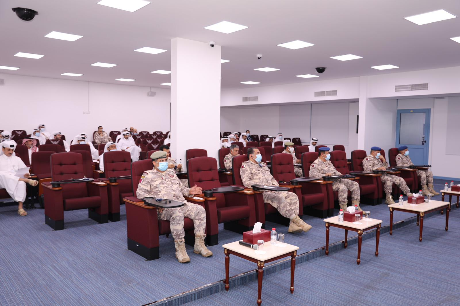 Former UK Defense Secretary Delivers Lecture in Joaan Bin Jassim Joint Command and Staff College