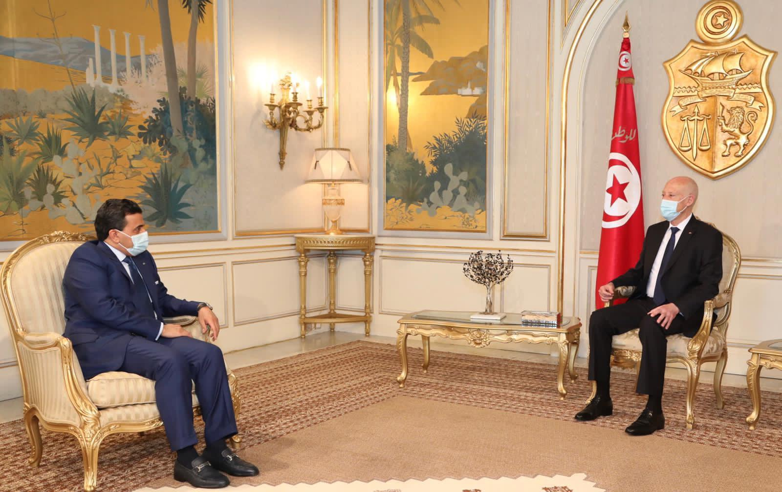 Tunisian President Meets Qatar's Attorney General