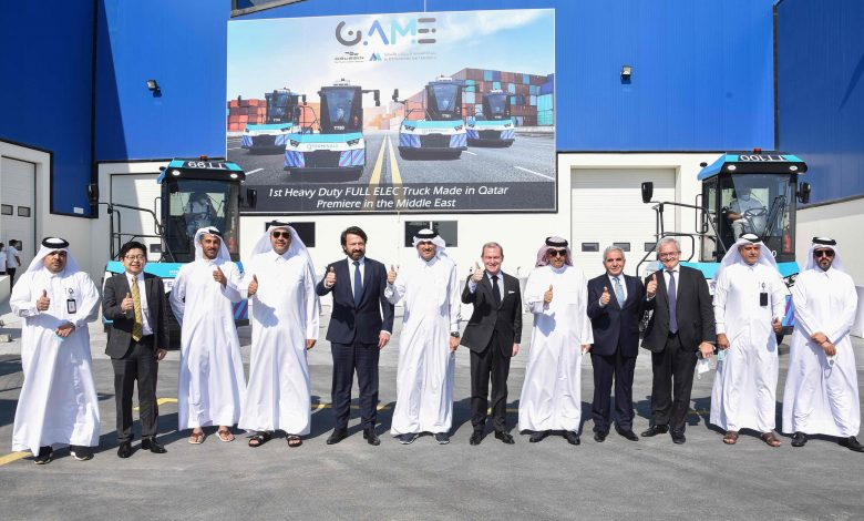First e-Vehicles Made in Qatar Tested at Ras Bufontas Free Zone