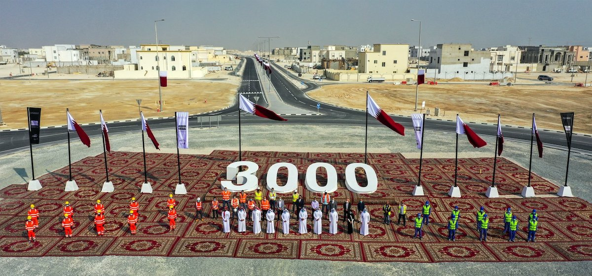 Completion of Services for 3000 Sub-divisions within Roads, Infrastructure Project in Al Wukair South