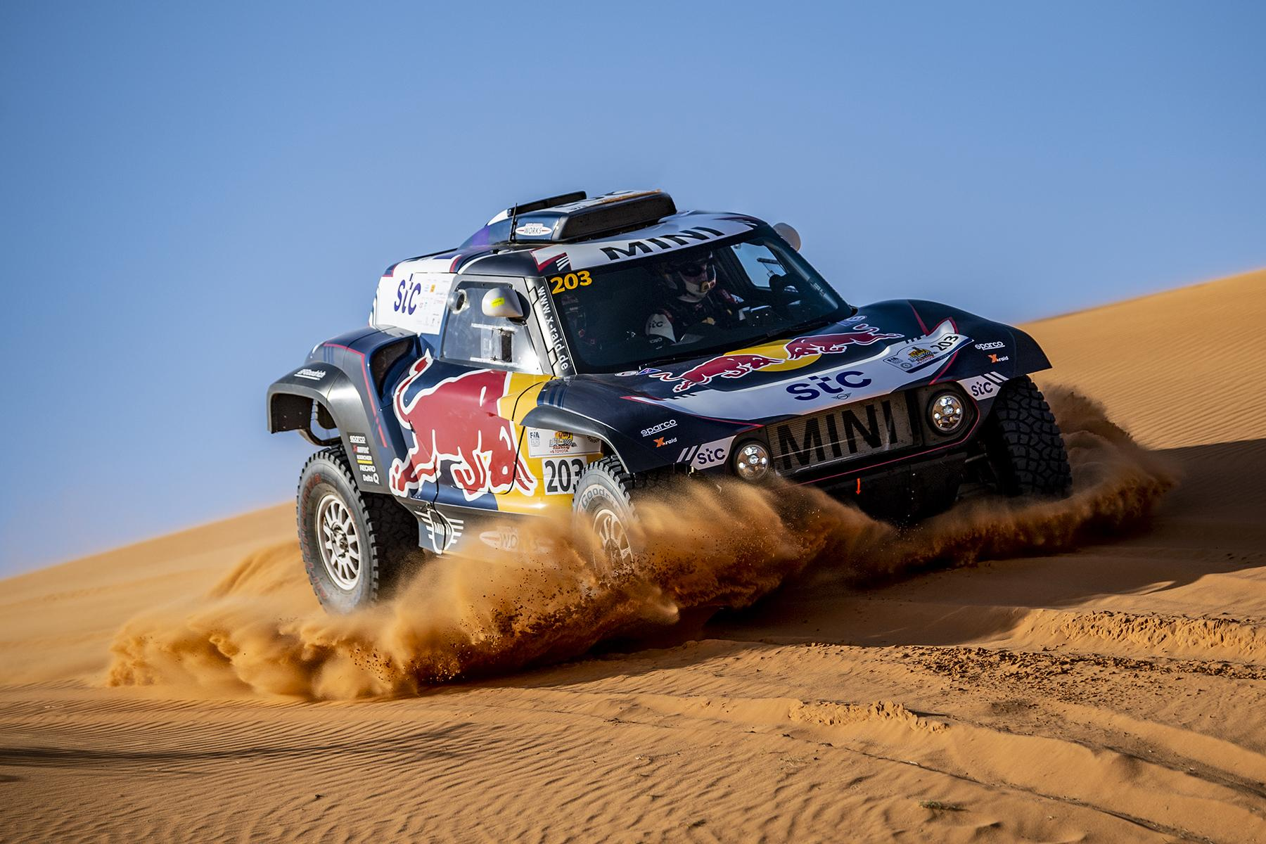 Nasser Al Attiyah Finishes Second in first phase of HAIL BAJA 2