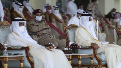 HH the Amir, HH the Father Amir Attend National Day Parade