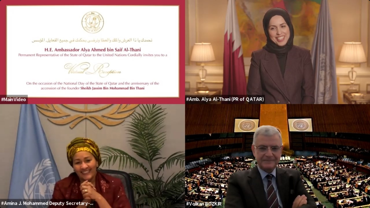 Embassies and Consulates of the State of Qatar Celebrate National Day