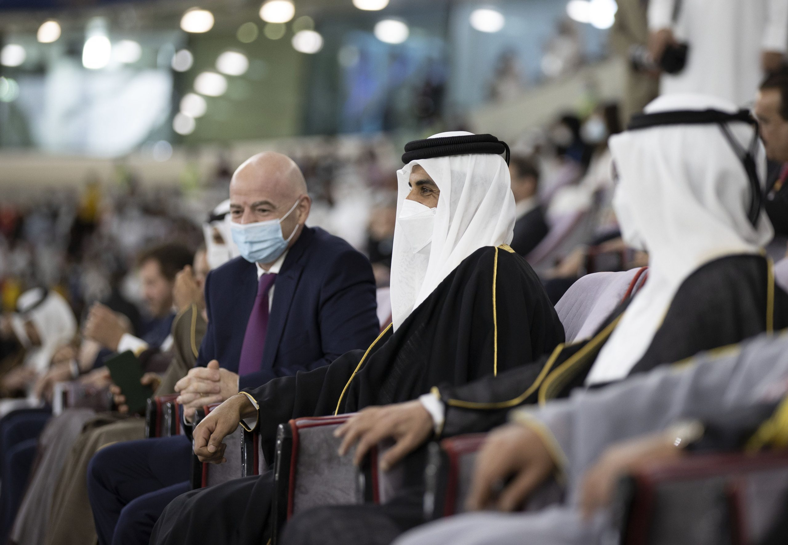HH the Amir Attends Final of the Amir Cup