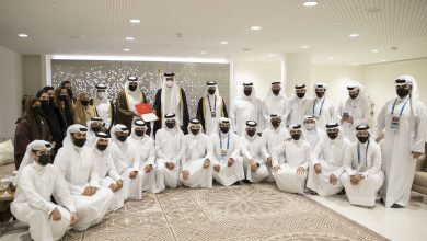 Amir Meets Team Members of Doha's Bid to Host the 2030 Asian Games