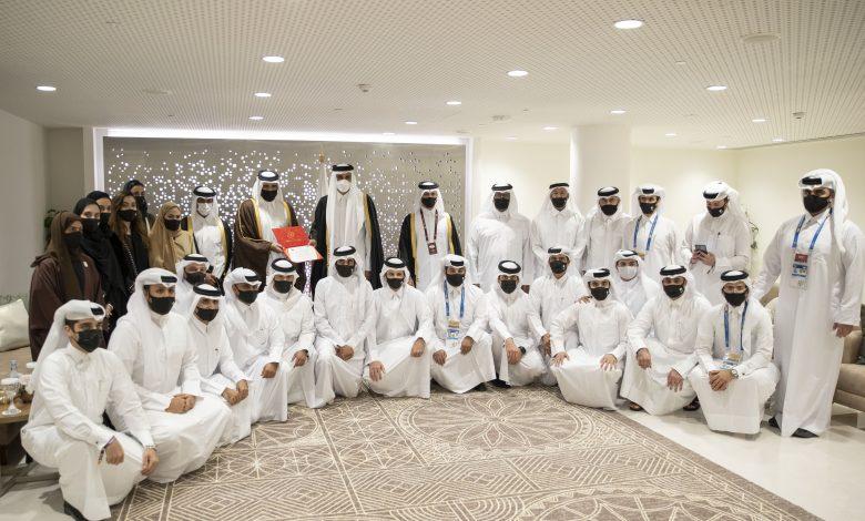 Amir Meets Team Members of Doha's Bid to Host the 2030 Asian Games