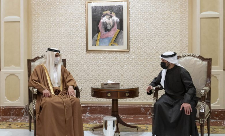 Personal Representative of the Amir Conveys Condolences of HH the Amir on Death of Sheikh Nasser Sabah Al-Ahmad Al-Sabah