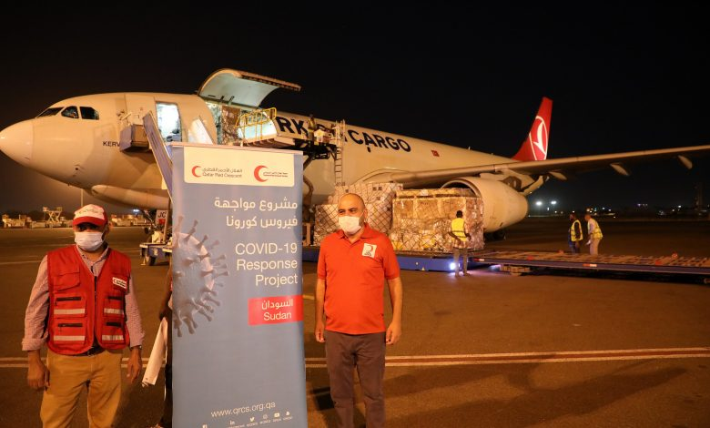 QRCS Delivers 2nd Medical Aid Shipment to Sudan