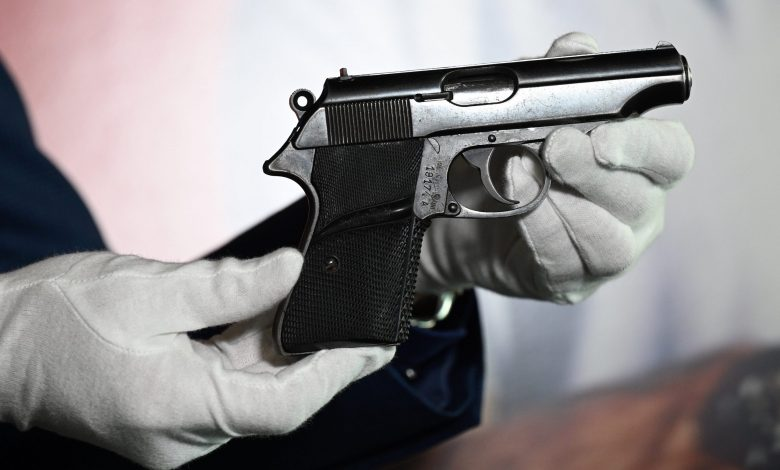 James Bond pistol Sold for $ 256,000