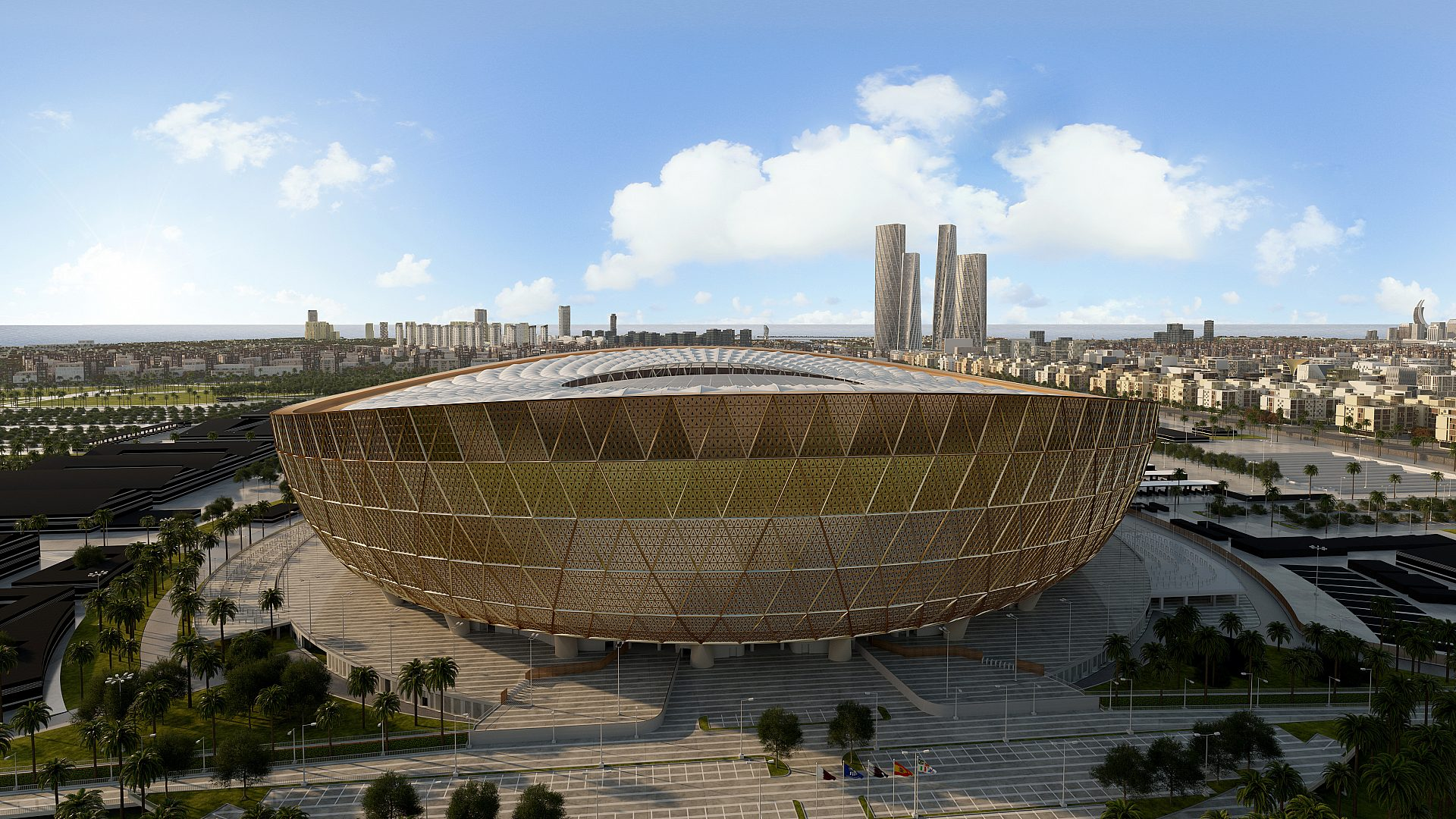 Two more Qatar 2022 stadiums to open in May; Lusail in Dec 2021
