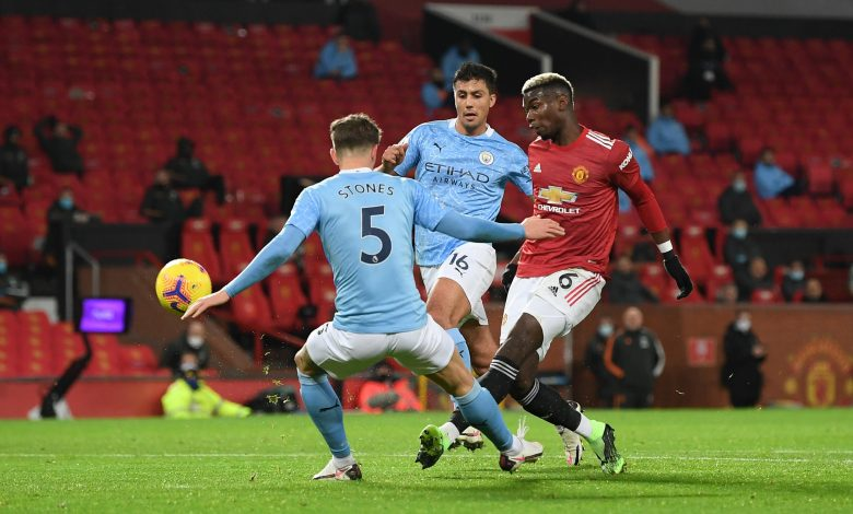 Premier League: Manchester United draw 0-0 with neighbours City