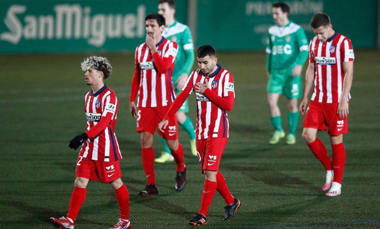 Atletico Madrid bid farewell to Copa Del Rey from preliminary round