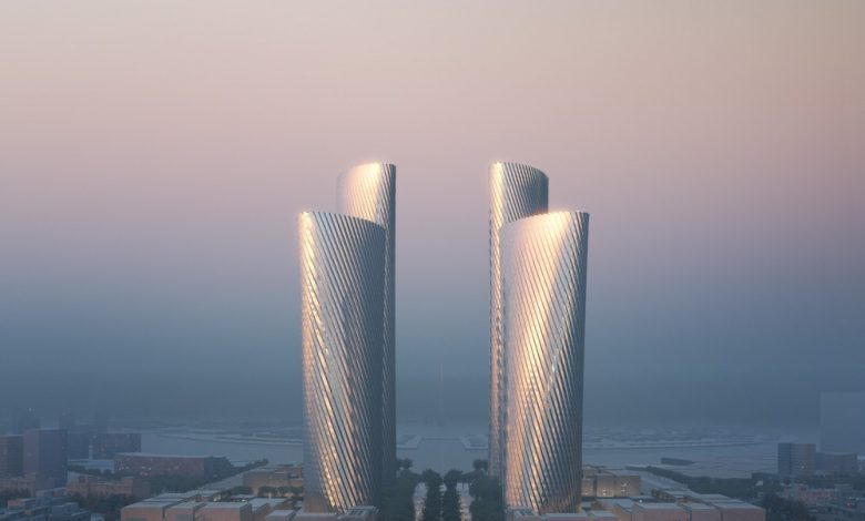 Aluminium towers design revealed in Lusail .. A new architectural masterpiece