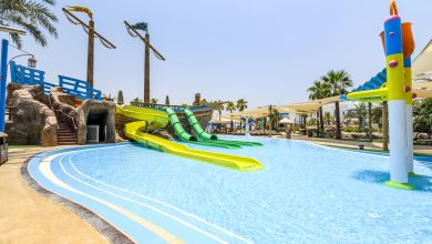 """A breathtaking experience: """"Desert Falls"""" in Qatar is the largest amusement park in the Middle East"""