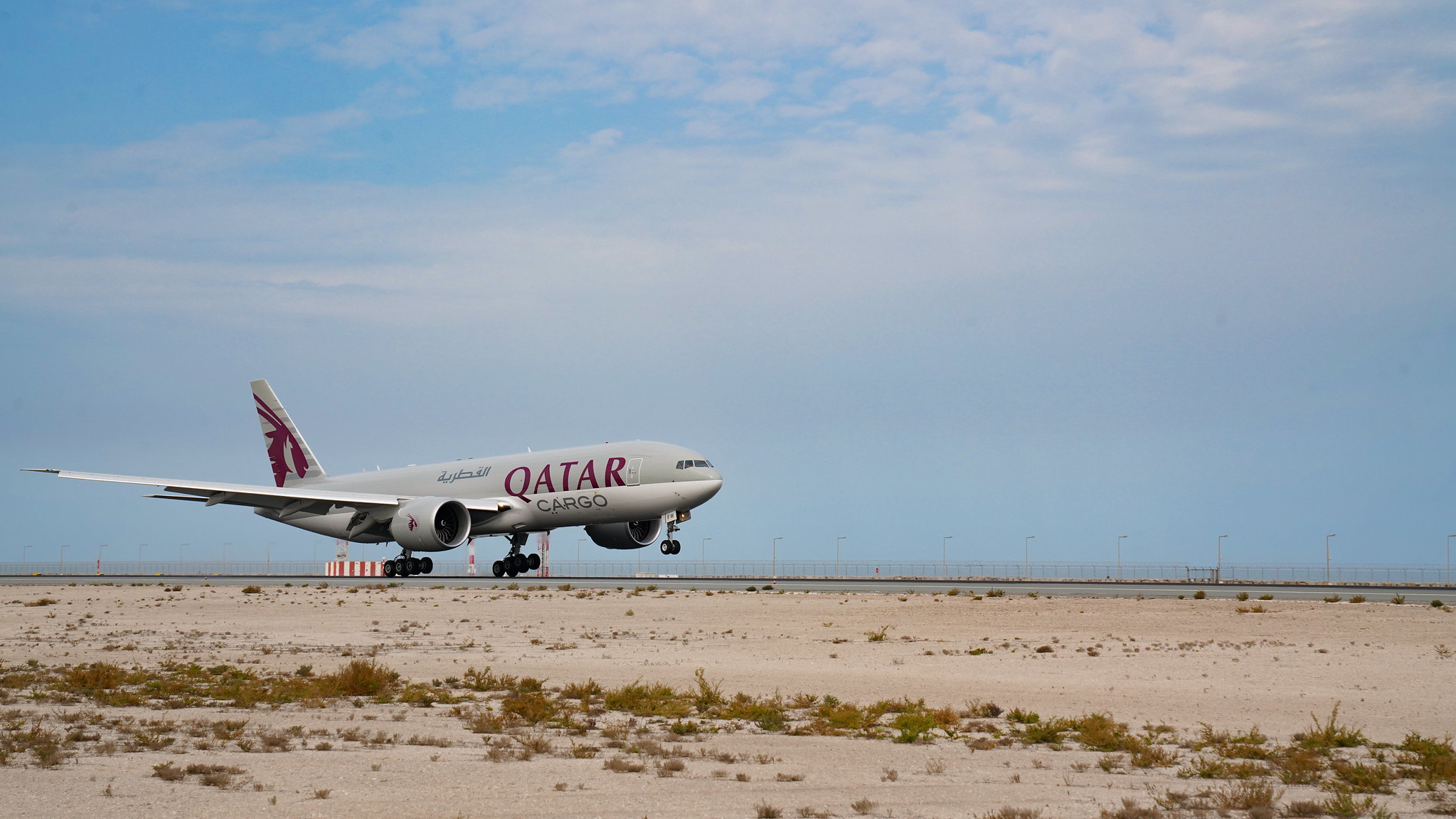 Qatar Airways Cargo Takes Delivery of Three Brand New Boeing 777 Freighters