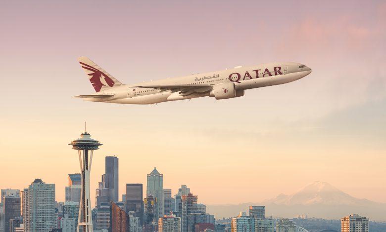 Qatar Airways launches flights to Seattle