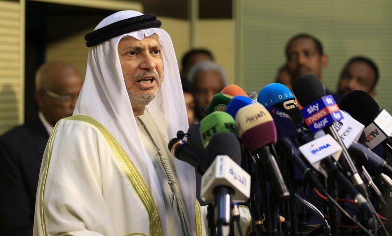 UAE-Qatar travel, transport to resume 'within a week': Anwar Gargash