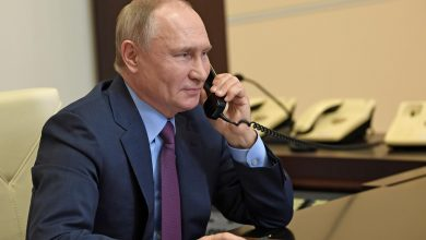 Putin and Biden's first telephone conversation
